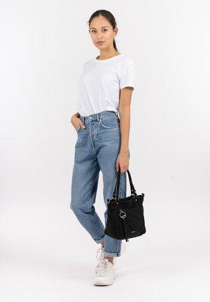 HOLLY - Tote bag - black