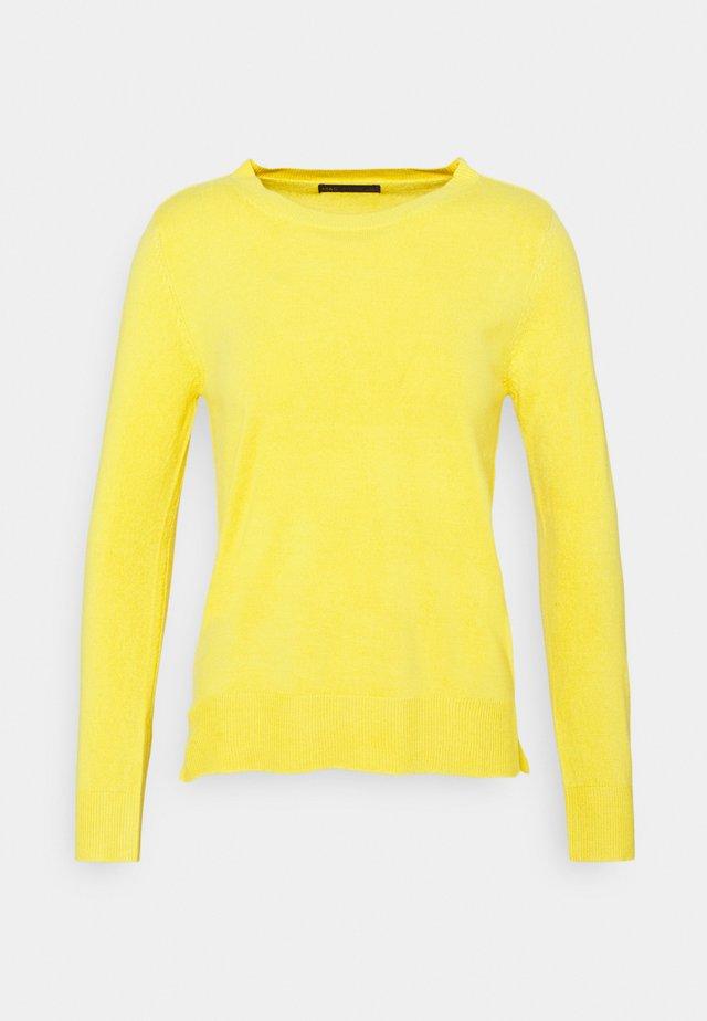 CASHMIL CREW - Maglione - yellow