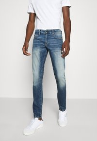 G-Star - REVEND SKINNY ORIGINALS - Jeans Skinny Fit - heavy elto pure superstretch-antic faded baum blue - 0