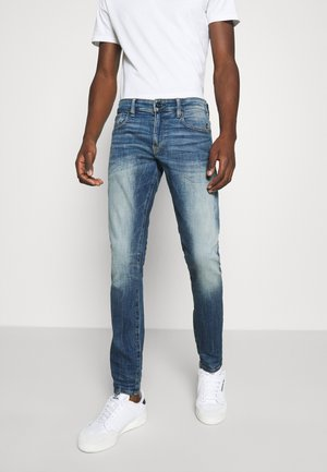 REVEND SKINNY ORIGINALS - Jeans Skinny - heavy elto pure superstretch-antic faded baum blue