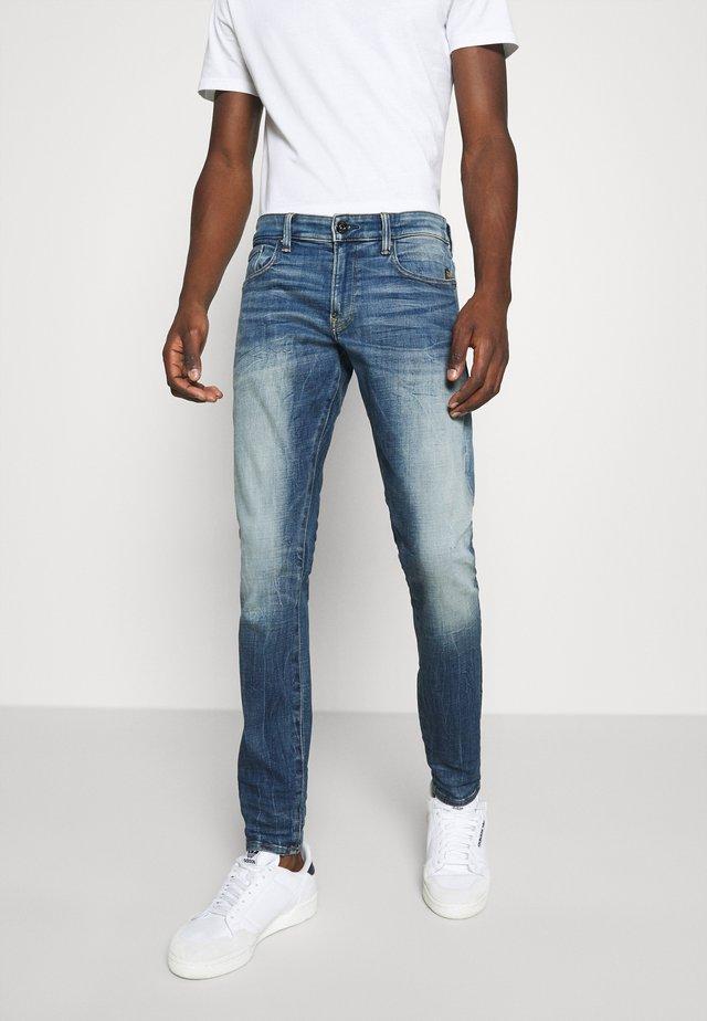 REVEND SKINNY ORIGINALS - Jeans Skinny Fit - heavy elto pure superstretch-antic faded baum blue
