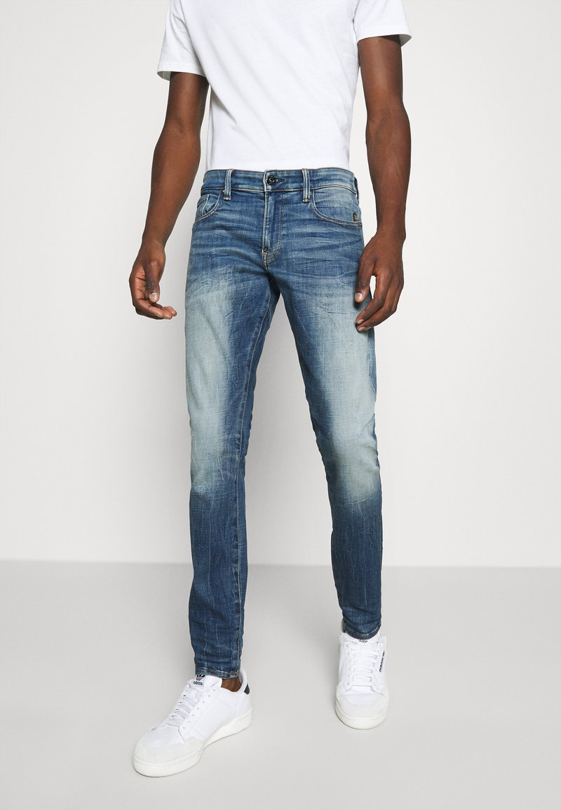 G-Star - REVEND SKINNY ORIGINALS - Jeans Skinny Fit - heavy elto pure superstretch-antic faded baum blue