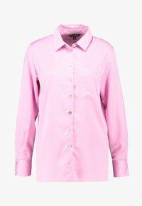 Miss Selfridge - BUBBLEGUM - Button-down blouse - pink - 4