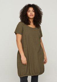 Zizzi - Day dress - green - 0