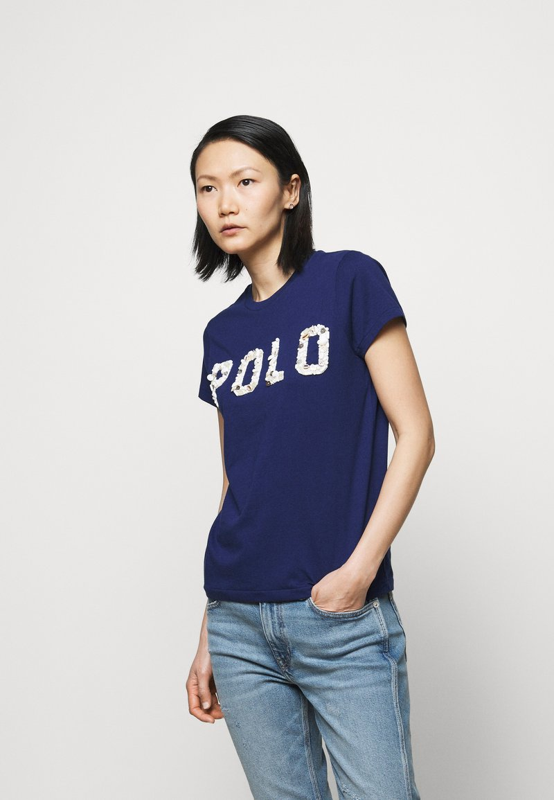 Polo Ralph Lauren - T-shirt con stampa - holiday navy