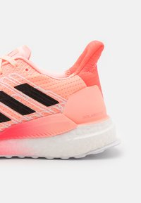 adidas Performance - SOLAR BOOST 19 - Neutral running shoes - light fluo orange/core black/signal pink