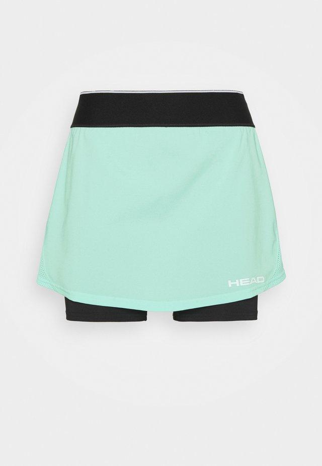 ROBIN SKORT - Sportovní sukně - mint/black