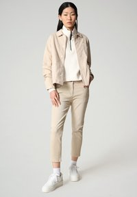 Napapijri - ALIE - Denim jacket - natural beige - 1