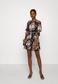 Alice McCall - PRETTY THINGS MINI DRESS - Denní šaty - black - 1