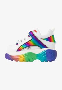 Buffalo London - Joggesko - white/rainbow - 1