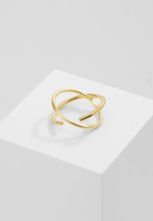 TWIN - Ring - gold-coloured