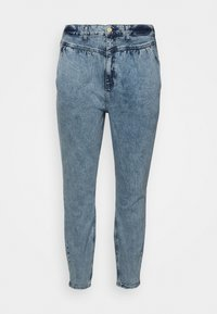 Relaxed fit jeans - denim marl