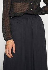 Saint Tropez - CORAL SKIRT - A-line skirt - black - 4