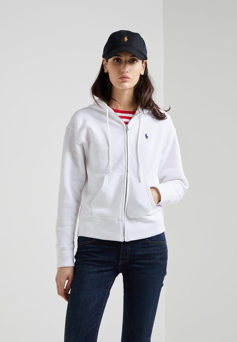 Polo Ralph Lauren - SEASONAL - Zip-up hoodie - white