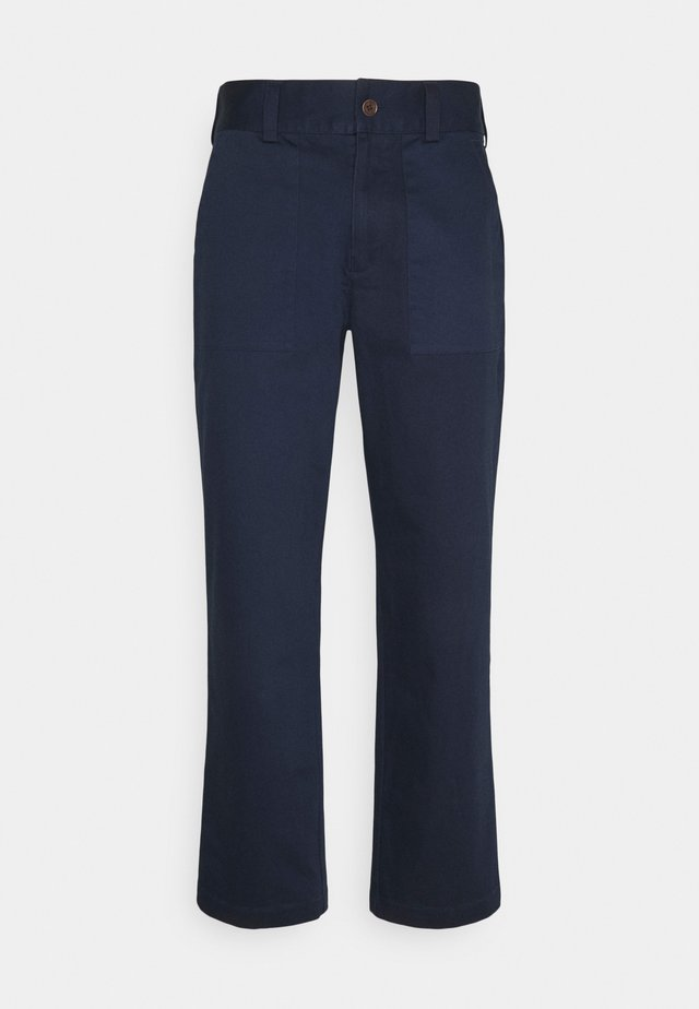 COUP TROUSERS - Trousers - ensign blue