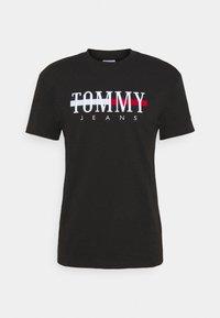 TIMELESS TEE UNISEX - T-shirts med print - black