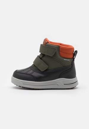 VIKEN UNISEX - Snowboots  - dark green