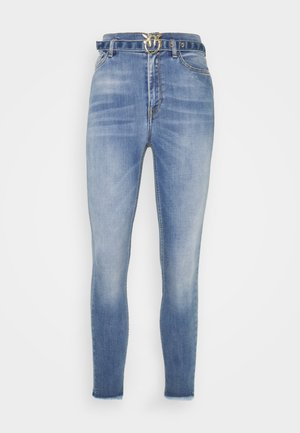 SUSAN SOFT STRETCH - Skinny džíny - blue denim