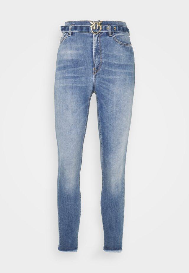 SUSAN SOFT STRETCH - Jeans Skinny Fit - blue denim