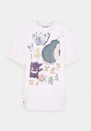 POKEMON TEE - T-shirts med print - ballerina