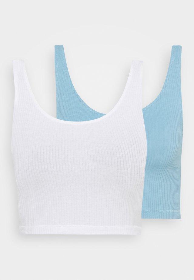 KEY 2 PACK - Top - blue light/white