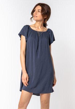 Day dress - dark-blue