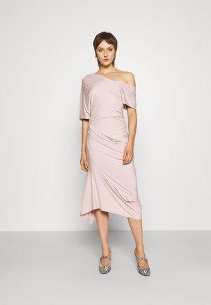 CARTIE DRESS - Jerseyjurk - dusty pink
