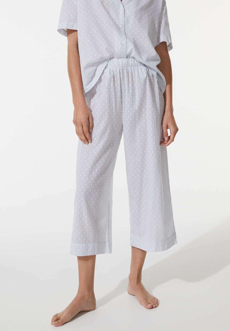 OYSHO - Pyjama bottoms - blue