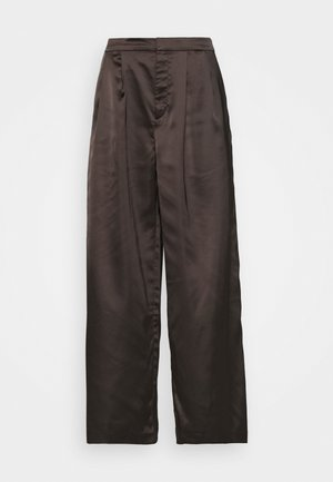 MINA TROUSERS - Stoffhose - black