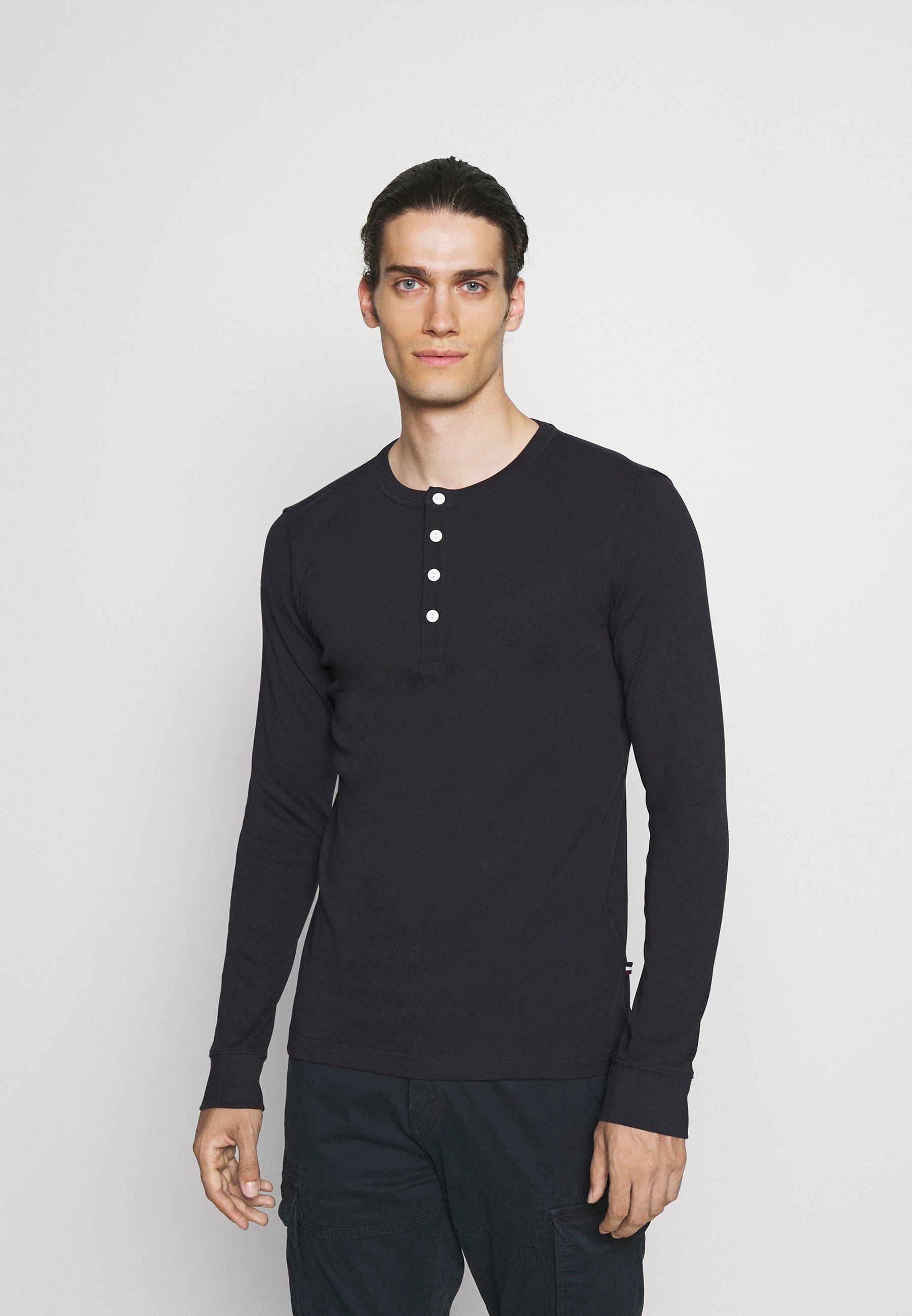 Uomo SOLID GRANDAD  - Maglietta a manica lunga
