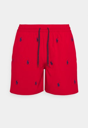 TRAVELER - Swimming shorts - red