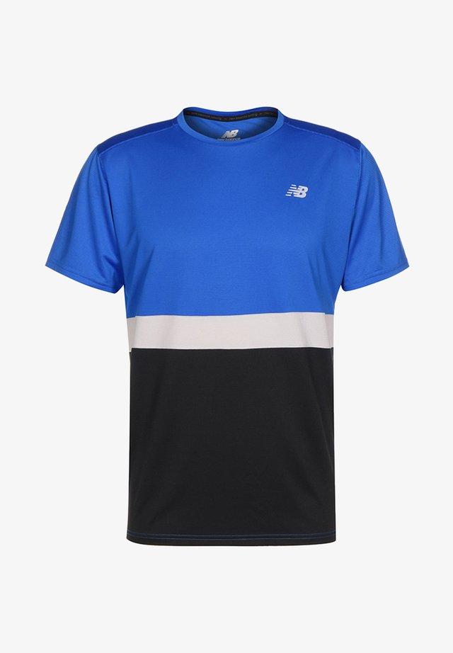 T-shirt med print - other blue