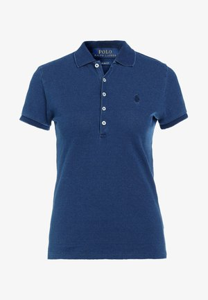 JULIE SHORT SLEEVE - Polo - dark indigo