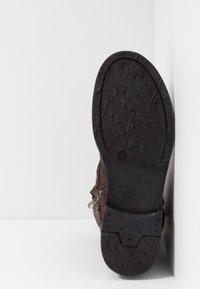 A.S.98 - SAMURAI - Lace-up boots - fondente - 4