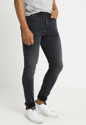 TYLER - Slim fit -farkut - portland washed black