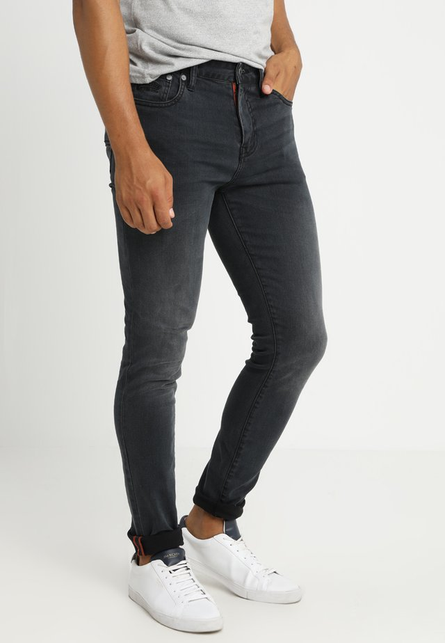 TYLER - Slim fit jeans - portland washed black