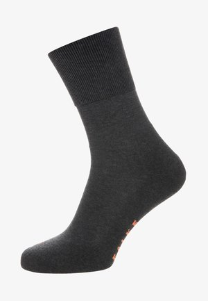FALKE RUN SOCKEN BLAU - Sokker - dark grey