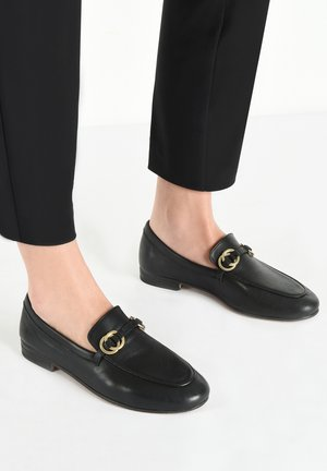 Loafers - black blk