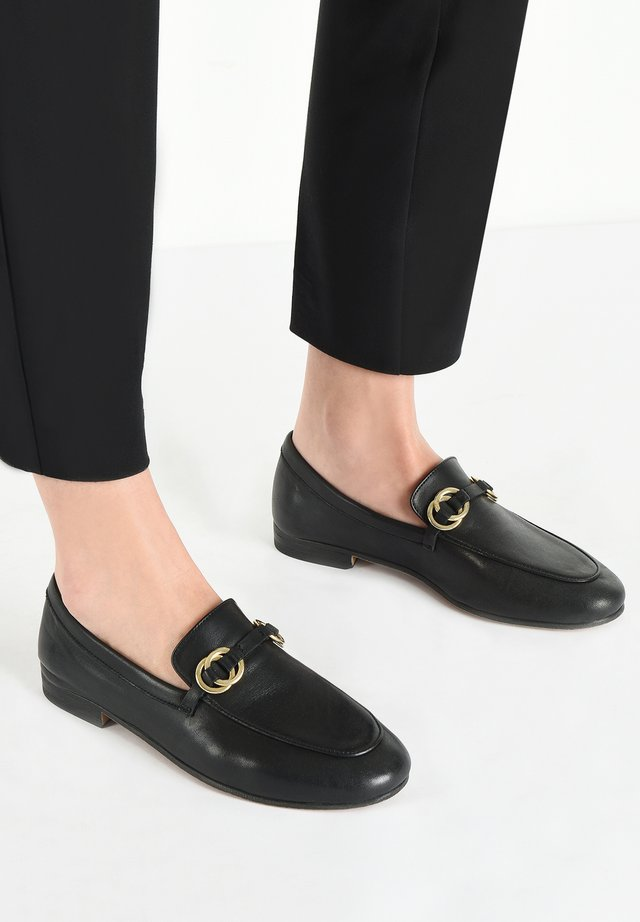 Slip-ons - black blk