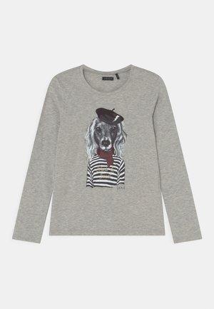 TEE - Pitkähihainen paita - gris chiné moyen