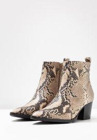 RE:DESIGNED - DEDRA - Kotníkové boty - beige - 4