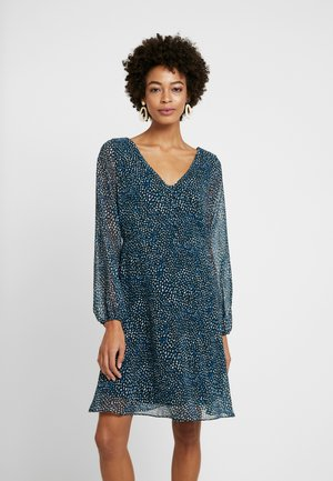 DITSY FLORAL DRESS - Day dress - blue