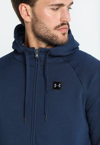 Under Armour - RIVAL  - Training jacket - academy/black - 5