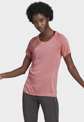 ADI RUNNER PRIMEGREEN RUNNING - T-shirts basic - pink