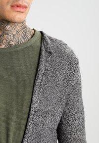 YOURTURN - Kardigan - light grey/black - 3