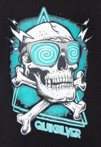 Quiksilver - HELL REVIVAL - T-shirt z nadrukiem - black - 2