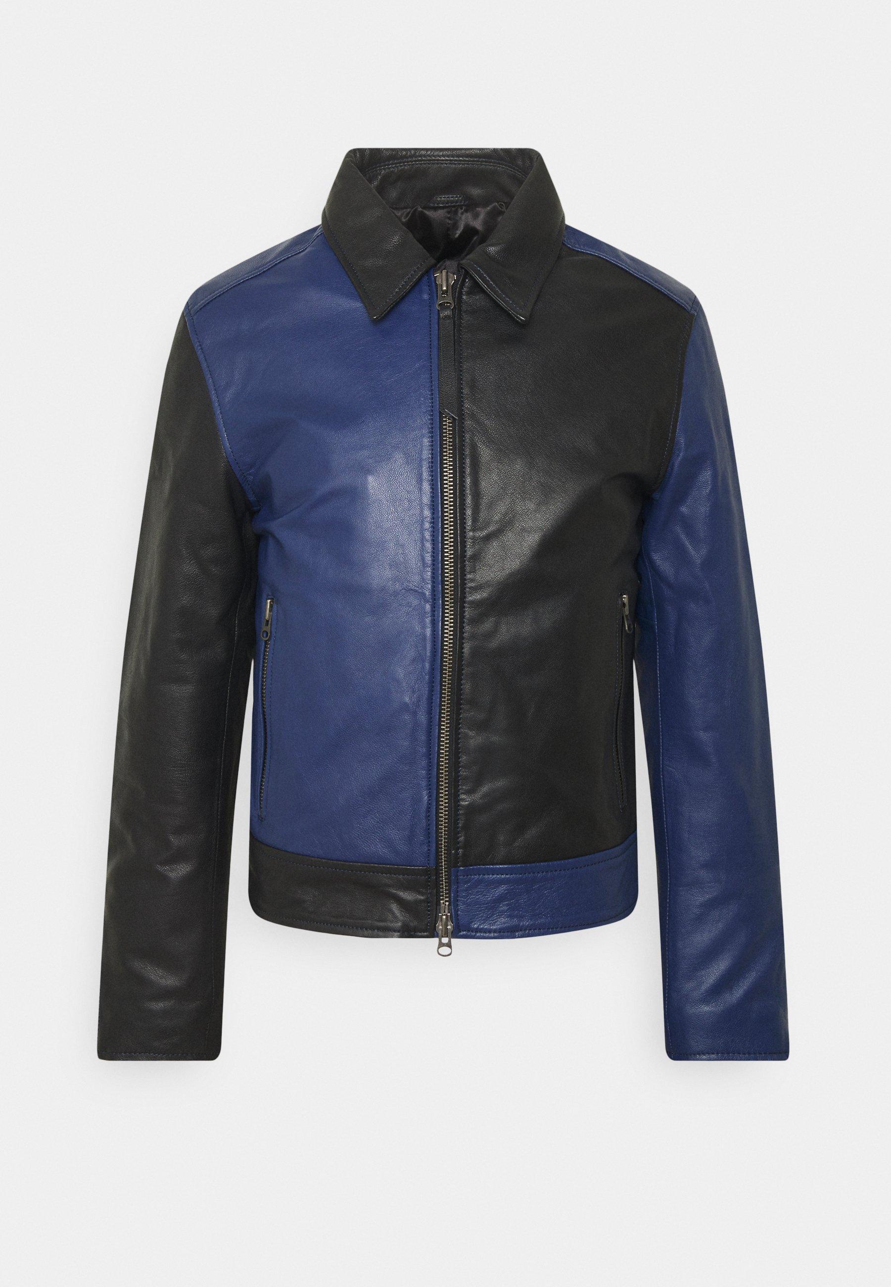 Men TANKER - Leather jacket