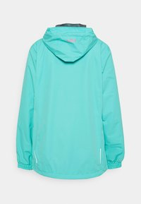 CMP - WOMAN RAIN JACKET FIX HOOD - Giacca outdoor - giada - 1