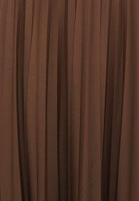 Esprit - PLEATED SKIRT - A-line skirt - brown - 2