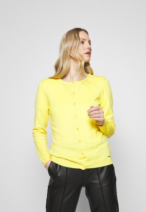 CARDIGAN - Kardigan - light lemon